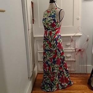 Warehouse Dresses - Warehouse cotton print halter dress Sz 6